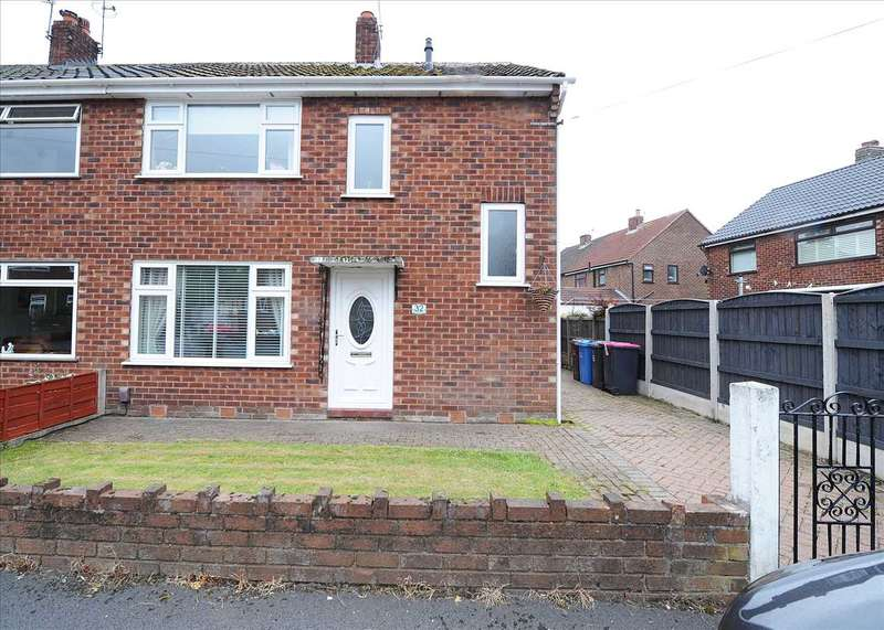 3 Bedrooms Semi Detached House for sale in 32 Queenway, Irlam M44 6ND