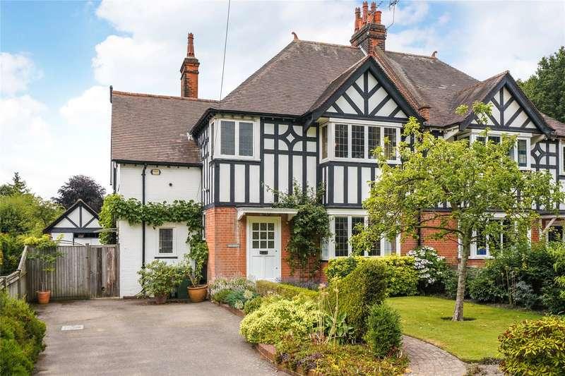 4 Bedrooms Semi Detached House for sale in Sheath Lane, Oxshott, Leatherhead, Surrey, KT22