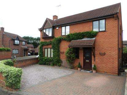 4 Bedrooms Detached House for sale in Baron Court, Peterborough, Cambridgeshire