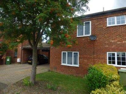 3 Bedrooms Semi Detached House for sale in Bampton Close, Furzton, Milton Keynes, Bucks