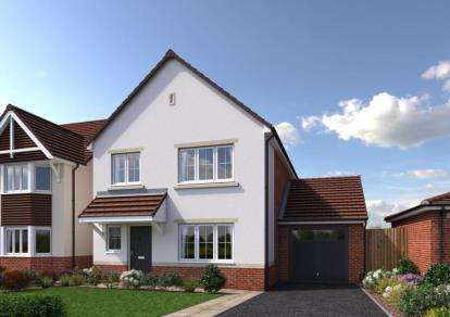 4 Bedrooms Detached House for sale in Cae Celyn, Maes Gwern, Mold, Flintshire, CH7