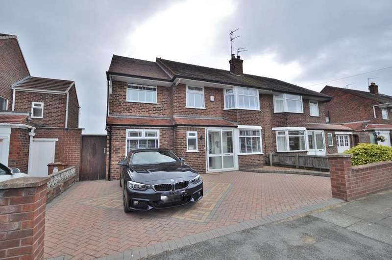 5 Bedrooms Semi Detached House for sale in Bayswater Road, Wallasey