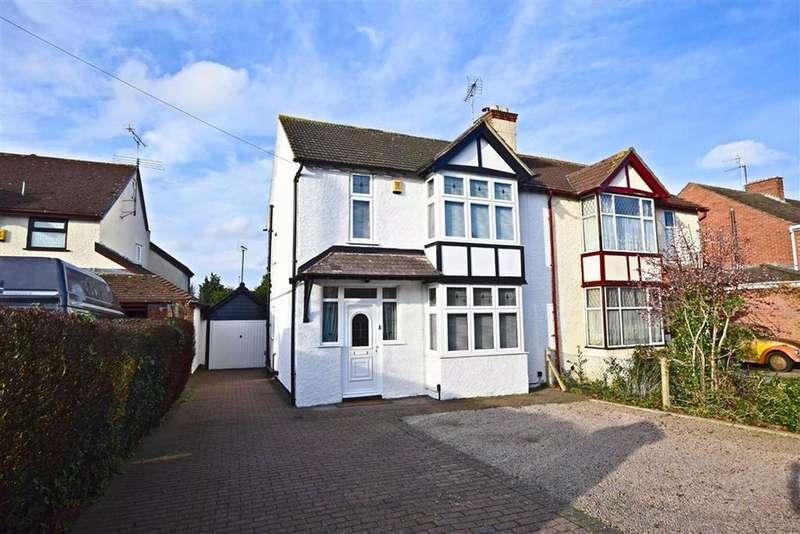 3 Bedrooms Semi Detached House for sale in Oxstalls Lane, Longlevens