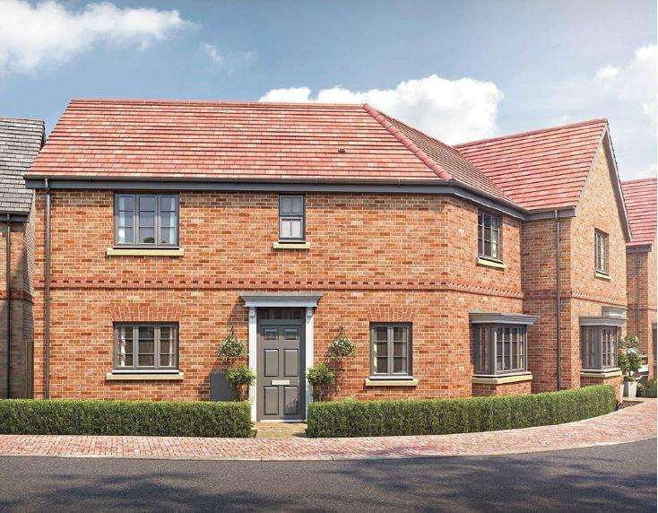 3 Bedrooms End Of Terrace House for sale in Plot 29, Shepherds Mews, Shefford, SG17