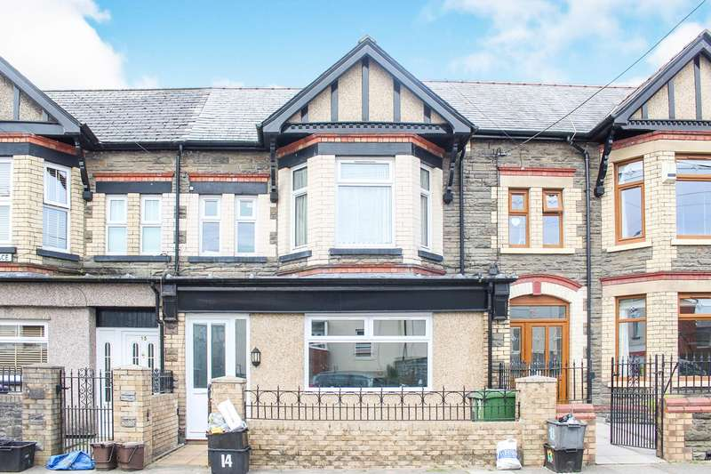 4 Bedrooms Terraced House for sale in Wern Terrace, Pontypool, NP4