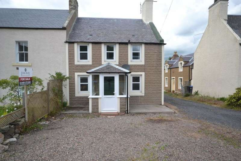3 Bedrooms End Of Terrace House for sale in Staerough View, Main Street Kirk Yetholm , TD5 8PE