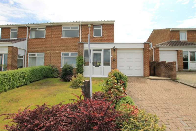 3 Bedrooms Semi Detached House for sale in Ambleside Mews, Leadgate, Consett, DH8