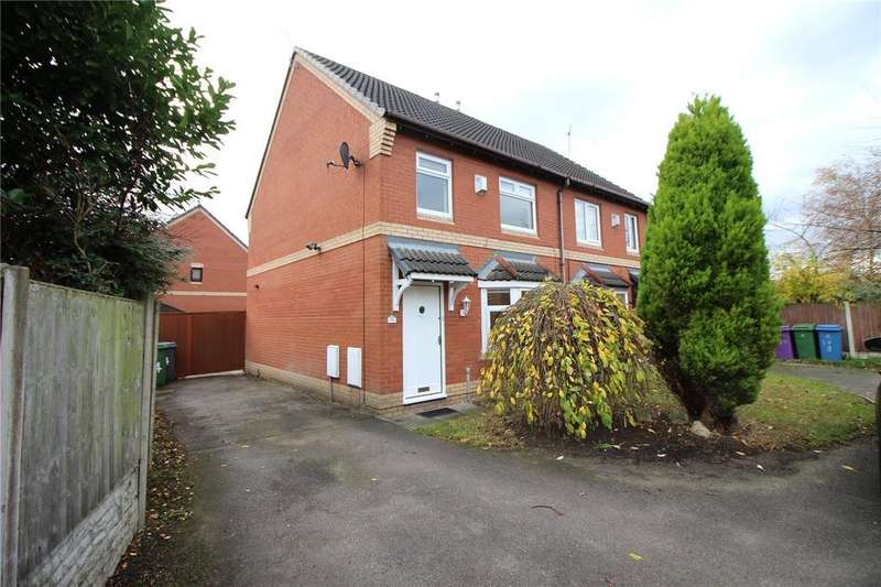 3 Bedrooms Semi Detached House for rent in Charmouth Close, Liverpool, Merseyside, L12