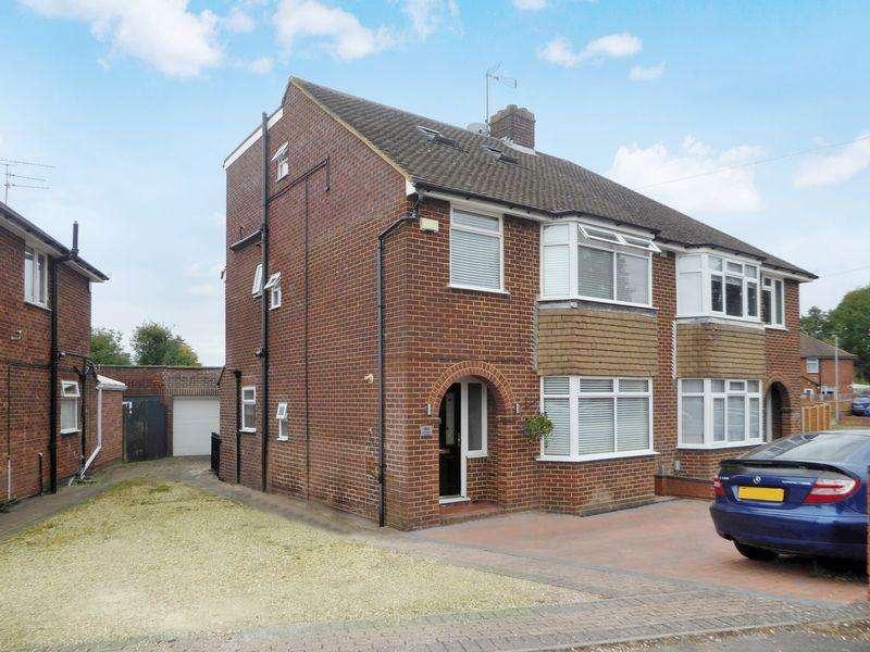 5 Bedrooms Semi Detached House for sale in Sundown Avenue, Dunstable