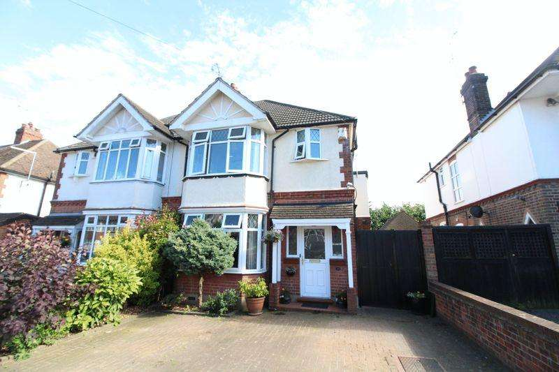 4 Bedrooms Semi Detached House for sale in Heavily Extended Family Home on Fountains Road, Luton