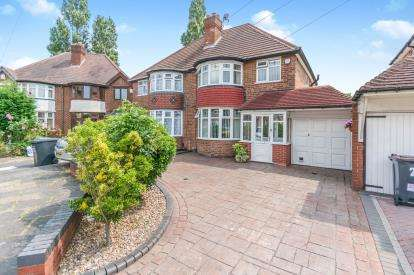 3 Bedrooms Semi Detached House for sale in Charminster Avenue, Birmingham, West Midlands