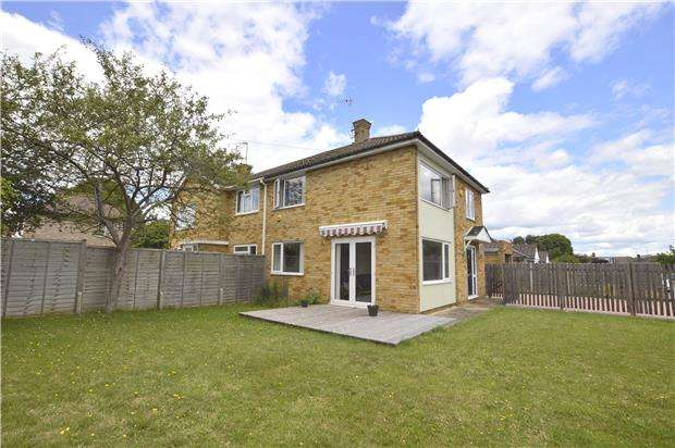 3 Bedrooms Semi Detached House for sale in Grimwade Close, Cheltenham, Glos, GL51 7EW