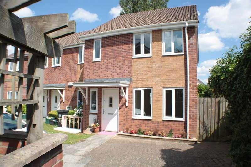 3 Bedrooms End Of Terrace House for sale in Rossiter Grange, Bishopsworth, Bristol, BS13 8QT