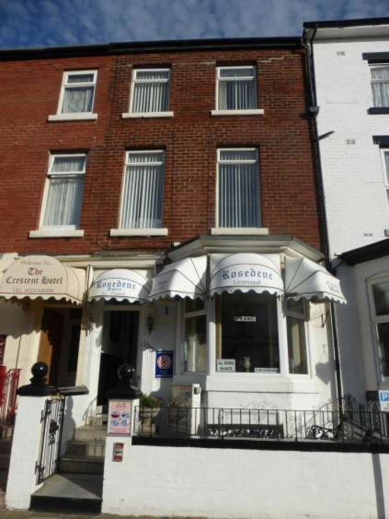 10 Bedrooms Hotel Gust House for sale in Coronation Street Central Blackpool