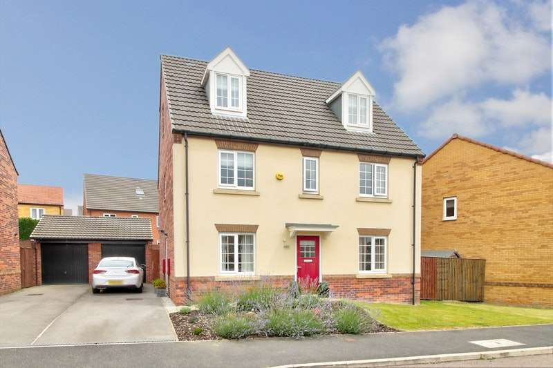 5 Bedrooms Detached House for sale in Gower Way, Rotherham, South Yorkshire, S62