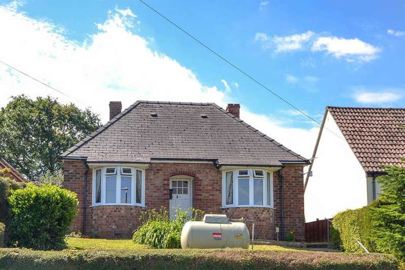 2 Bedrooms Detached Bungalow for sale in Woodend Lane, Cam, Dursley, GL11 5HT
