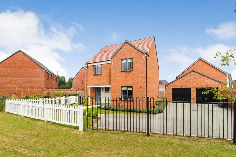 4 Bedrooms Detached House for sale in Ashpole Avenue, Wootton, MK43