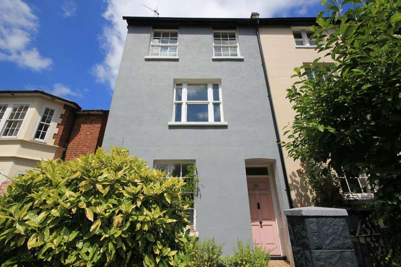 4 Bedrooms Town House for sale in Christchurch Road, Reading, RG2