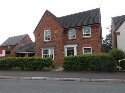 4 Bedrooms Detached House for sale in Teddy Gray, Elworth, Sandbach, Cheshire