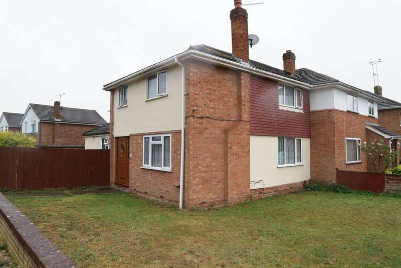 3 Bedrooms Semi Detached House for rent in Antrim Road, Woodley, Reading, RG5 3NU