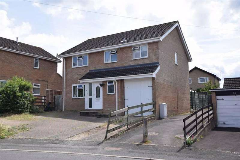5 Bedrooms Detached House for sale in Drivemoor, Abbeydale, Gloucester