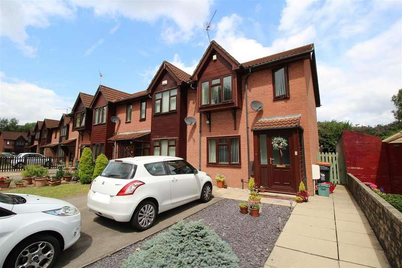 2 Bedrooms Terraced House for sale in Tregwilym Walk, Rogerstone, Newport