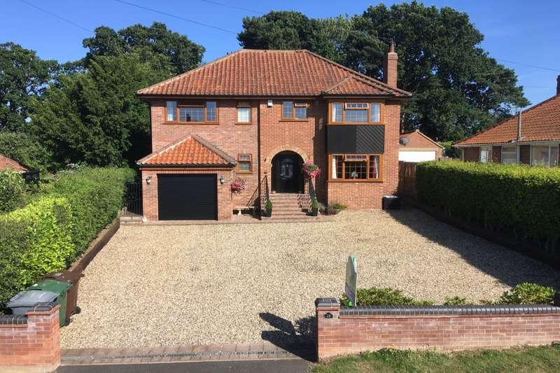 5 Bedrooms Detached House for sale in Burma Road, Old Catton , Norwich, NR6