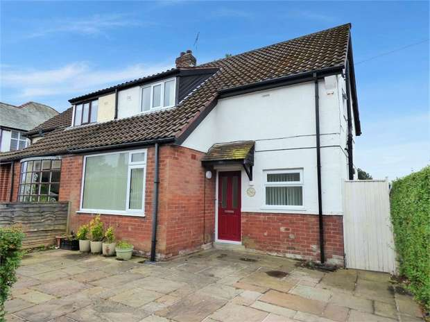 3 Bedrooms Semi Detached House for sale in Chapman Road, Fulwood, Preston, Lancashire