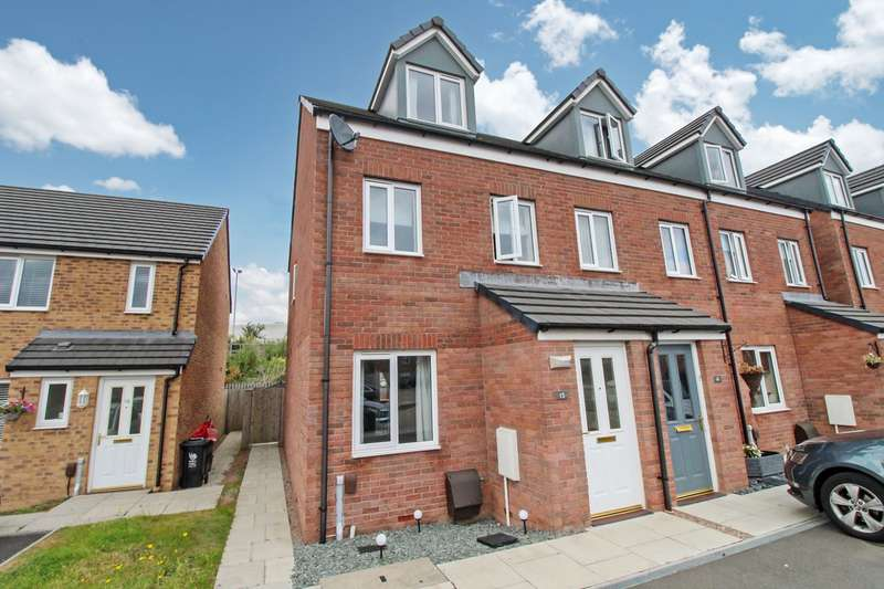 3 Bedrooms Town House for sale in Cefn Adda Court, Newport, NP20