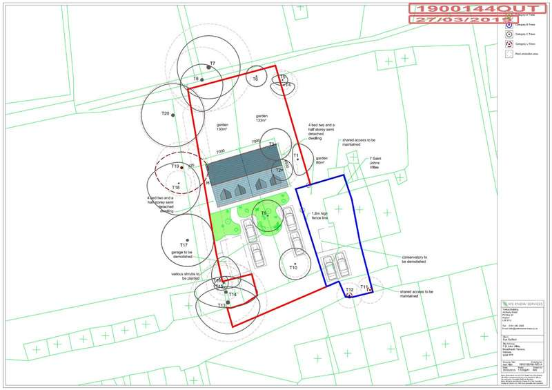Land Commercial for sale in St. Johns Villas, Widnes, Cheshire, WA8