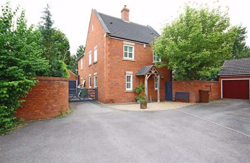4 Bedrooms Detached House for sale in Lime Road, Walton Cardiff, Tewkesbury, Gloucestershire