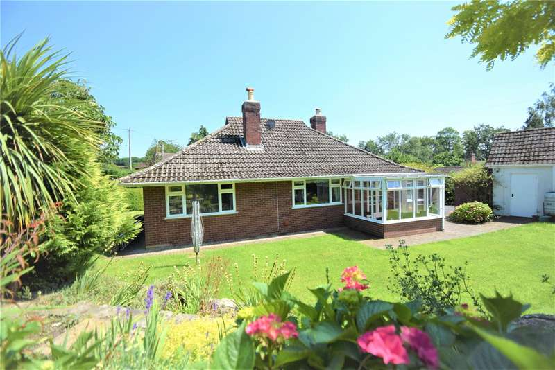 3 Bedrooms Detached Bungalow for sale in Glynrhedyn, Aston-on-Clun, Craven Arms, Shropshire, SY7