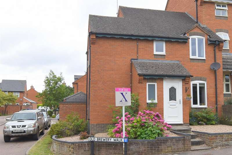 3 Bedrooms End Of Terrace House for sale in Old Brewery Walk, Brackley