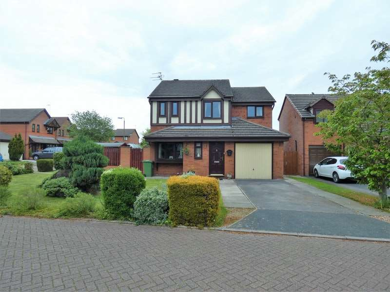 4 Bedrooms Detached House for sale in Elmwood Grove, Winsford, Cheshire, CW7