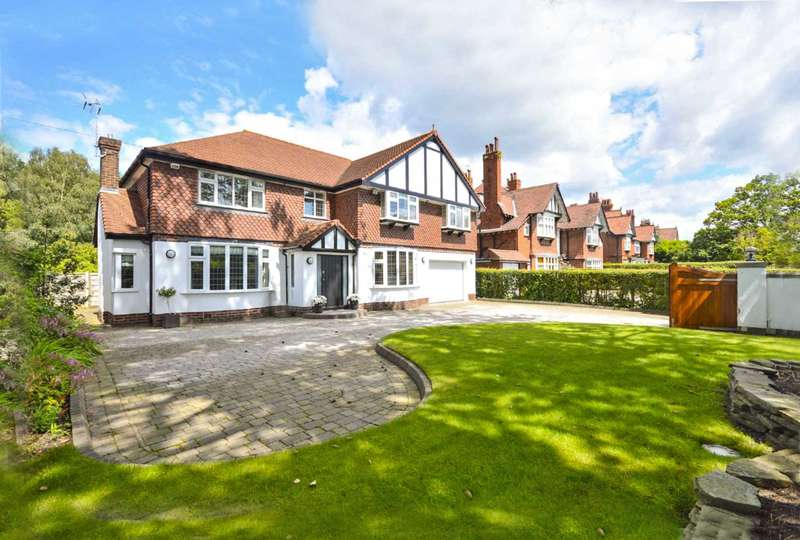 5 Bedrooms Detached House for sale in Manor Road, Cheadle Hulme