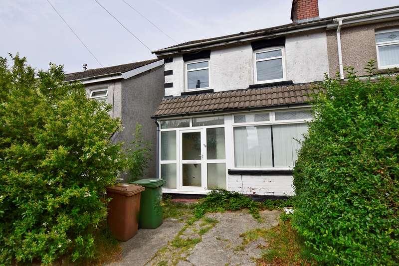 3 Bedrooms Semi Detached House for sale in Derwendeg Avenue, Cefn Hengoed, Hengoed, CF82