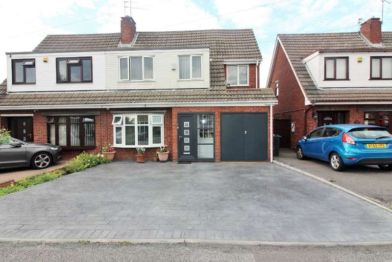4 Bedrooms Semi Detached House for sale in Pembroke Close, Willenhall