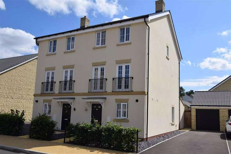 4 Bedrooms Town House for sale in Hidcote Road, Brockworth, Gloucester