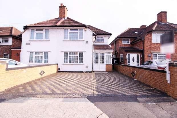3 Bedrooms Semi Detached House for sale in Summerhouse Avenue, Hounslow, TW5