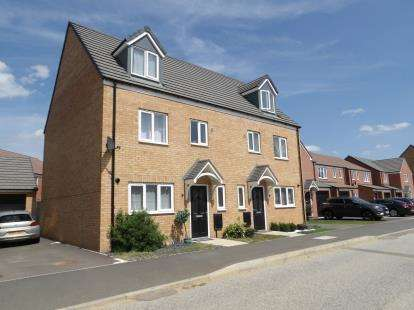 4 Bedrooms Semi Detached House for sale in Bellona Drive, Cardea, Peterborough, Cambridgeshire