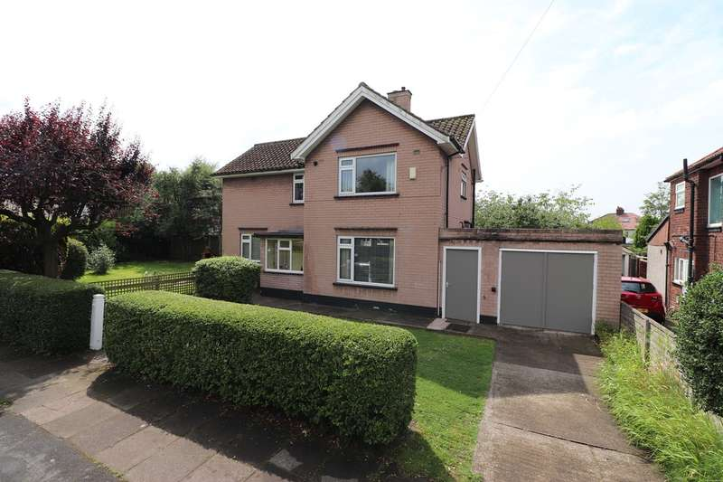 3 Bedrooms Detached House for sale in Knowe Park Avenue, Stanwix, Carlisle, CA3