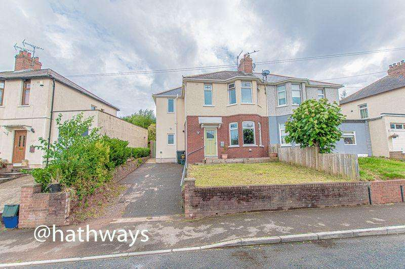4 Bedrooms Semi Detached House for sale in Queens Hill Crescent, Newport
