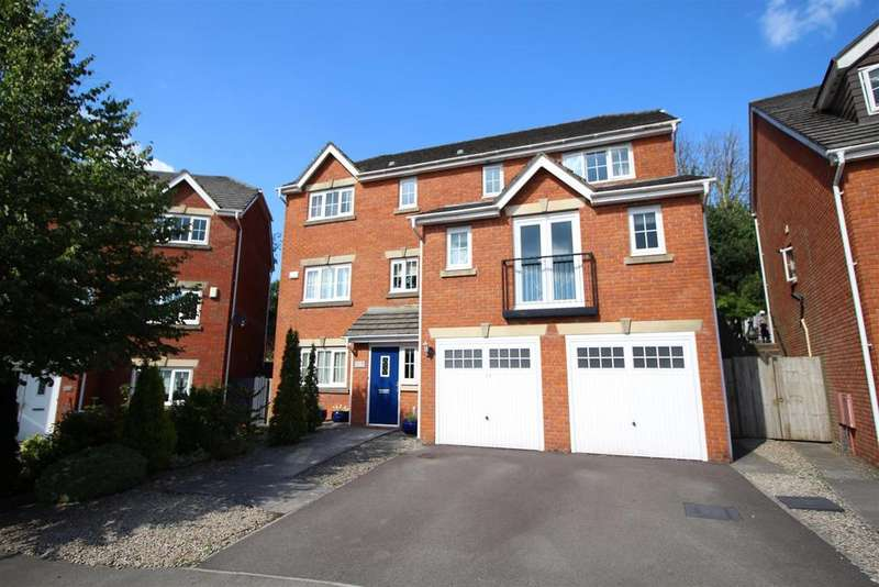 5 Bedrooms Detached House for sale in 11 Pontymason Rise, Rogerstone, Newport