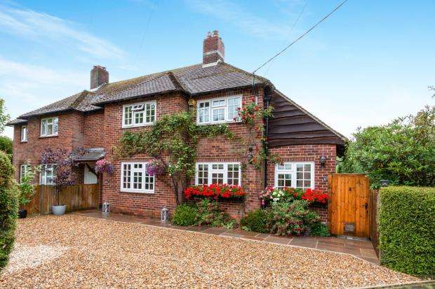 4 Bedrooms Semi Detached House for sale in Dummer, Basingstoke, Hampshire