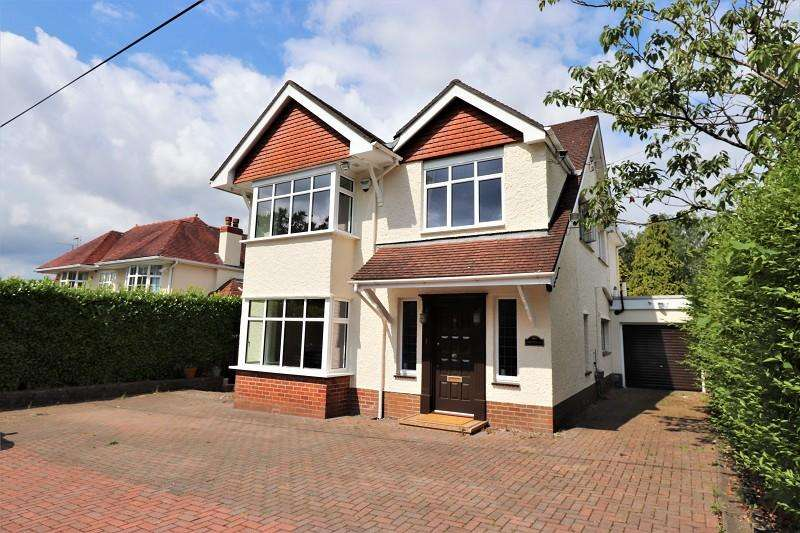 4 Bedrooms Detached House for sale in Glasllwch Lane, Newport. NP20 3PR