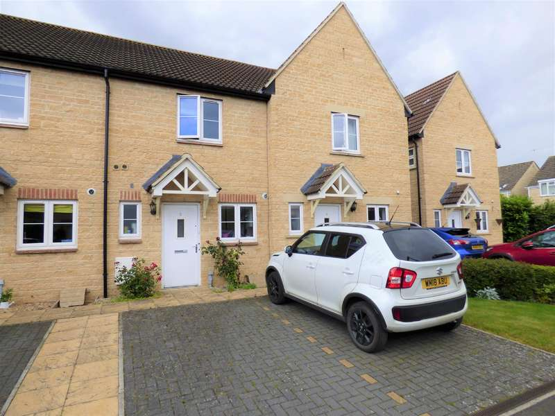 2 Bedrooms Terraced House for sale in Falstaff Close, Cirencester, Gloucestershire