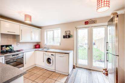 3 Bedrooms End Of Terrace House for sale in Fox Hedge Way, Sharnbrook, Bedford, Bedfordshire