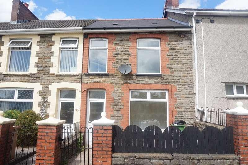2 Bedrooms Terraced House for sale in Waunborfa Road, Cefn Fforest, Blackwood, NP12