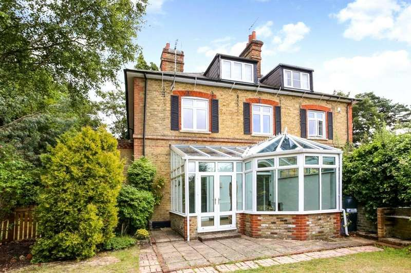 5 Bedrooms Semi Detached House for rent in London Road, Camberley, Surrey