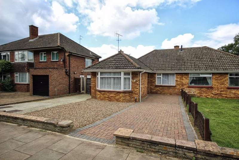 2 Bedrooms Semi Detached Bungalow for sale in Benhall Avenue, Cheltenham, GL51